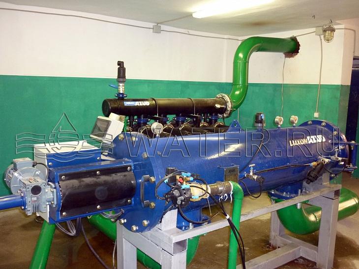 двух-ступенчатая система механической фильтрации производительностью 200 м3/ч, г. учалы, р. башкортостан