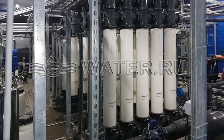 мембранная система на основе технологии ультрафильтрации